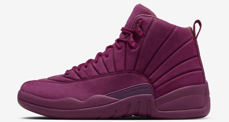 ef336088846f air jordan 12 burgundy white