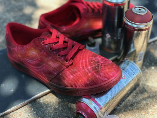 41e4d7db964 ... Custom Vans with a Cosmic Spin by Bagocustoms