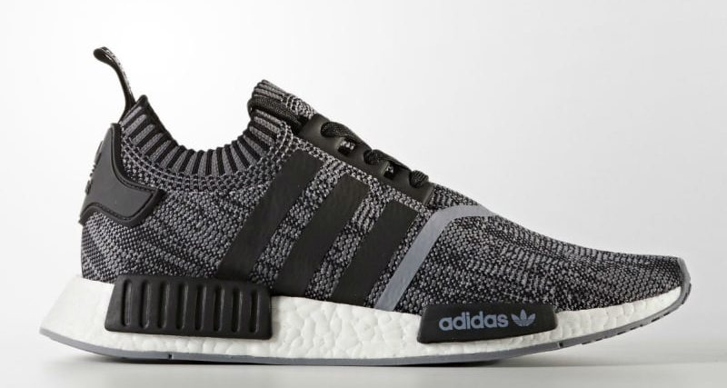 new style e1442 f4efb adidas NMD R1 Primeknit Black/White Releasing in Fall | Nice ...