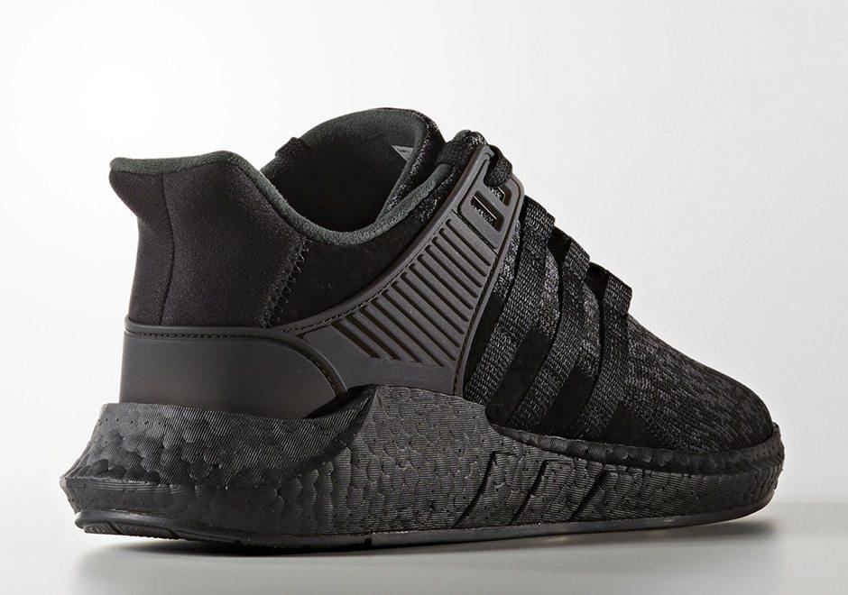 innovative design 77883 db5b1 ... store adidas eqt support 93 17 triple black 20aae 332e6