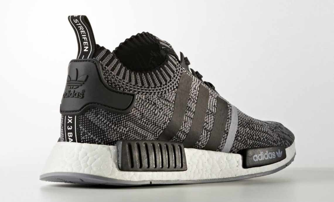 30481d0565681 adidas NMD R1 Primeknit Black White Releasing in Fall