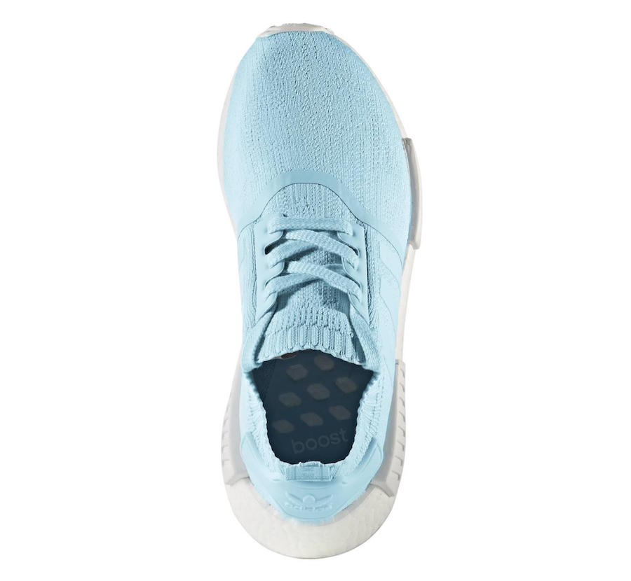 adidas originals NMD XR1 Primeknit Triple White BB1967 Sock Like