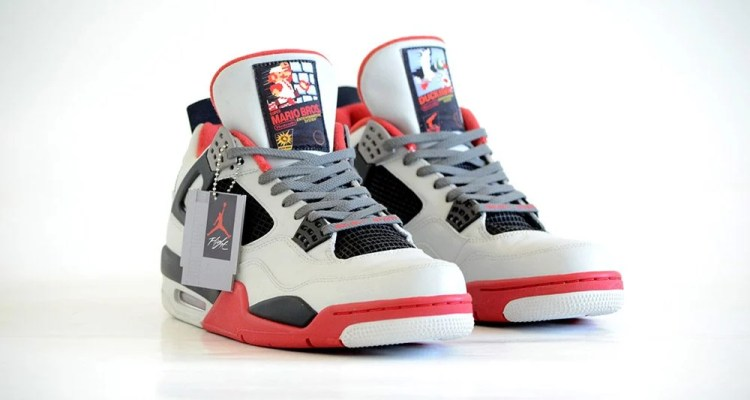 Air Jordan 4 NES Custom
