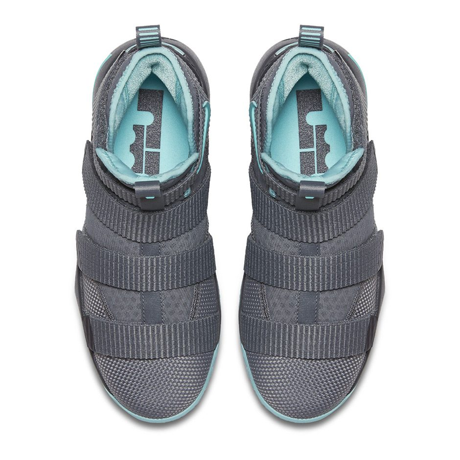 Nike LeBron Soldier 11 GS Grey/Mint