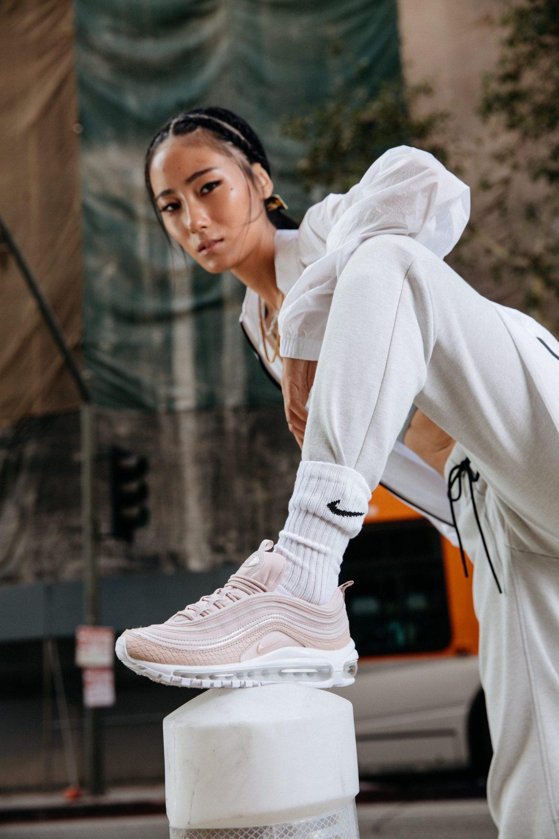 "Nike Air Max 97 Premium Goes ""Pastel Pink"" | Nice Kicks"