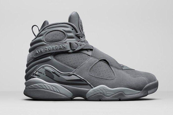 """Air Jordan 8 """"Cool Grey"""" ..."""