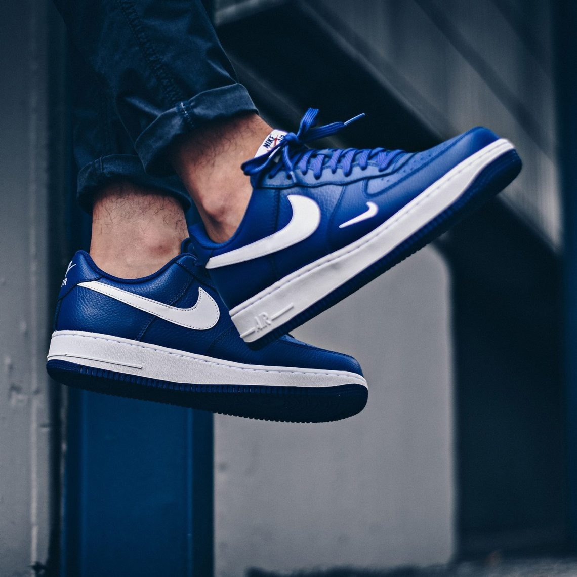 007063fd9a Air Force 1 Mini Swoosh Deep Royal Blue // Available Now