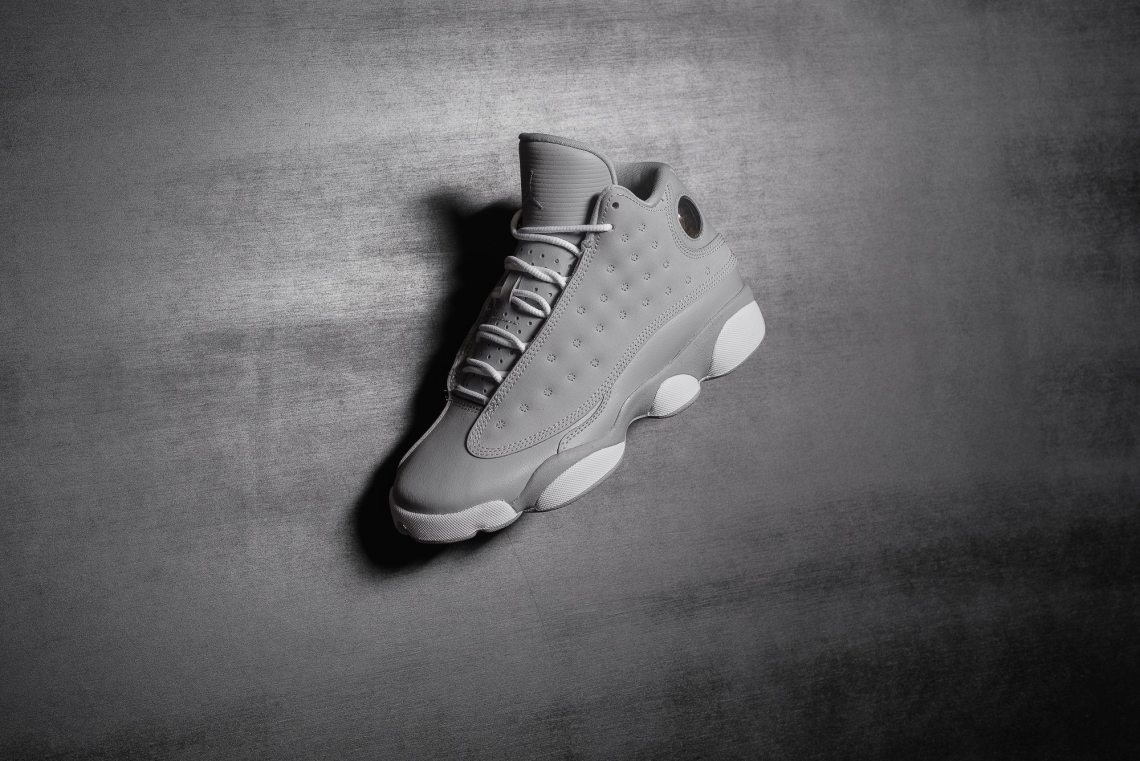 best loved a4398 ce14f GreyWhite-Deadly Pink Style 439358-018. Release Date August 26  Air Jordan  13 GS Wolf ...