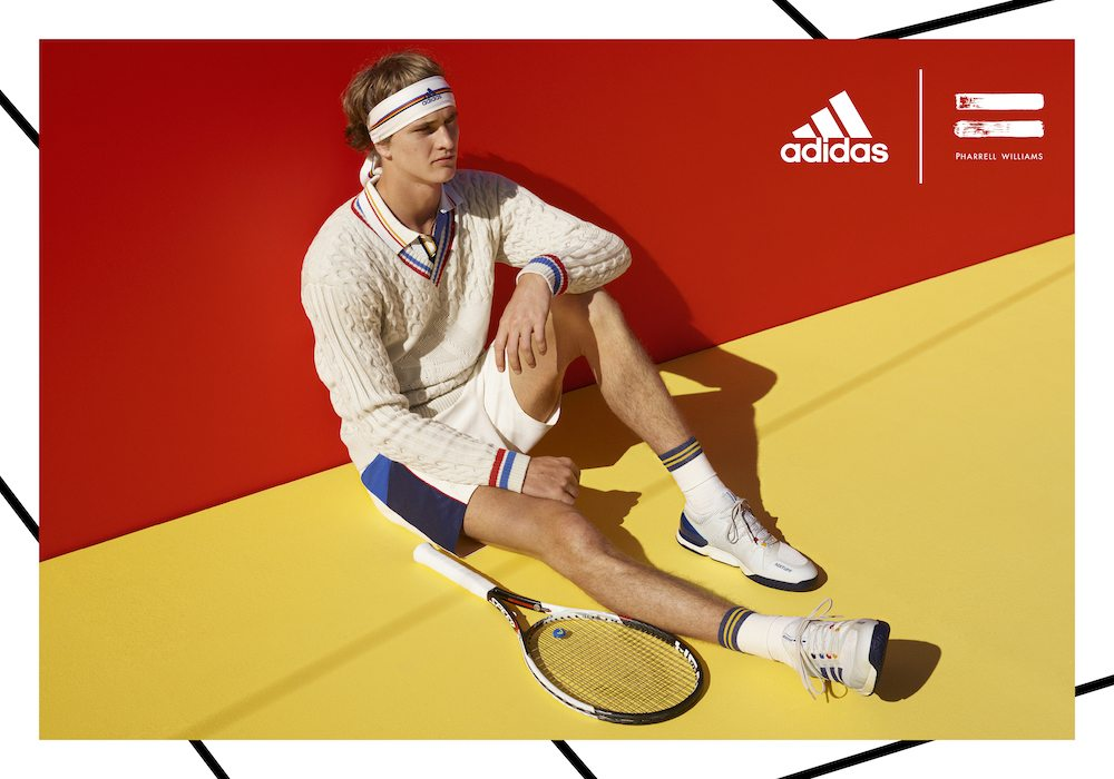 9674134671386 Take a look at the adidas Tennis Collection by Pharrell Williams below and  expect the release on August 31