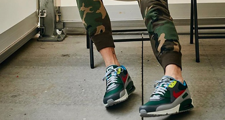 "John Mayer x Nike Air Max 90 ""Pickle Rick"""