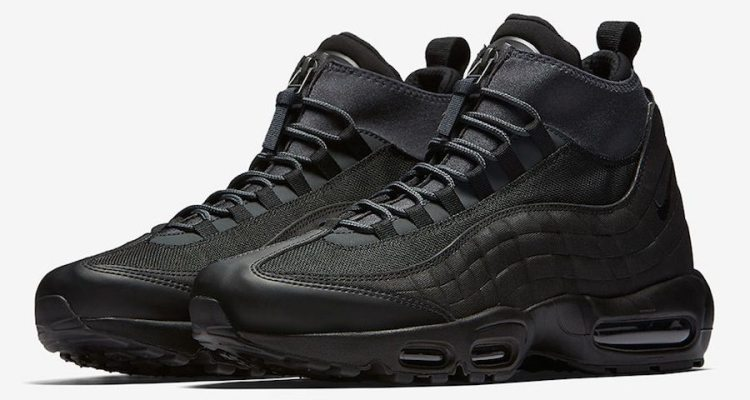 """Nike Air Max 95 Sneakerboot """"Triple Black"""""""