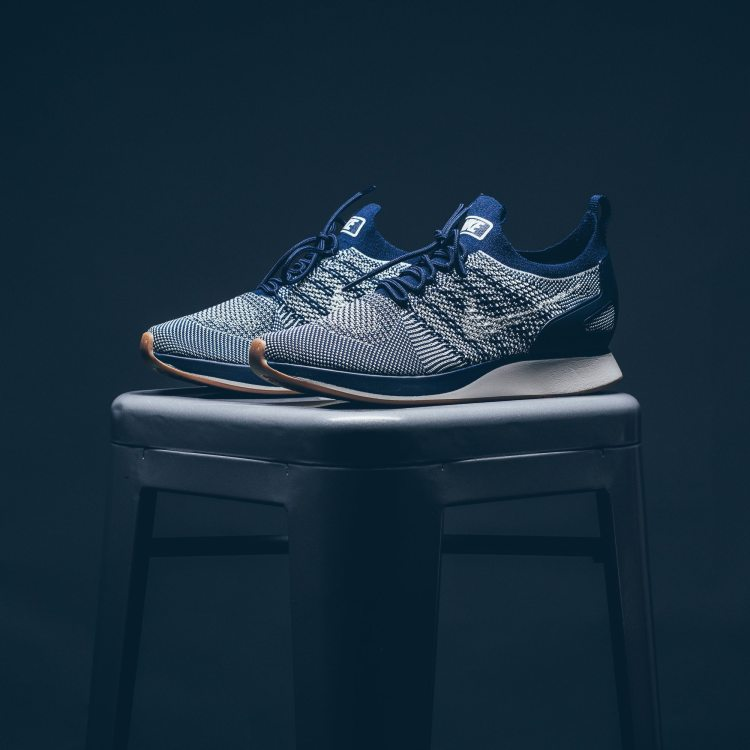 nike air zoom mariah flyknit racer college navy available now nice kicks. Black Bedroom Furniture Sets. Home Design Ideas