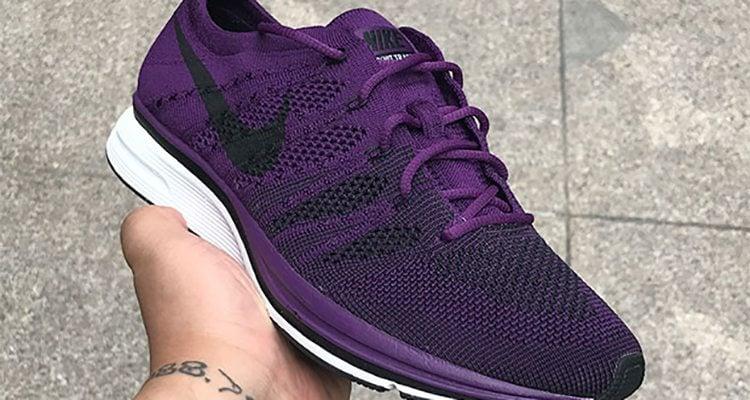 Nike Flyknit Trainer Purple/Black