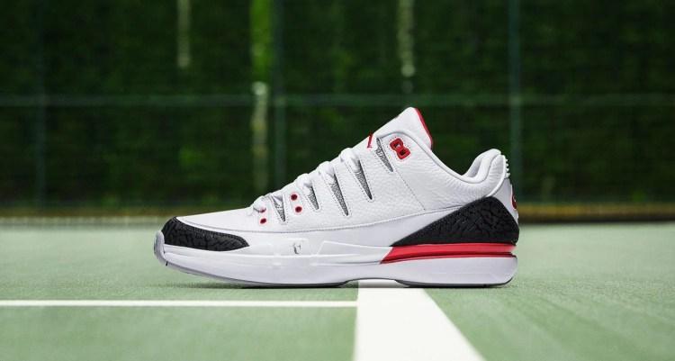 "Nike Zoom Vapor Air Jordan 3 ""Fire Red"""
