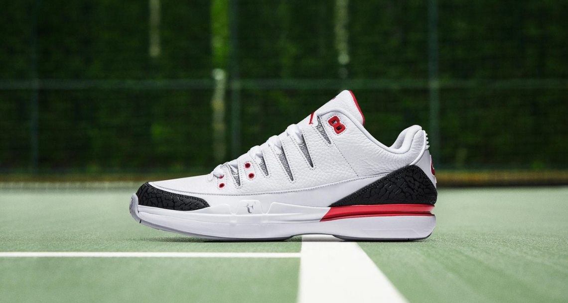 "Nike Zoom Vapor Air Jordan 3 ""Fire Red"""