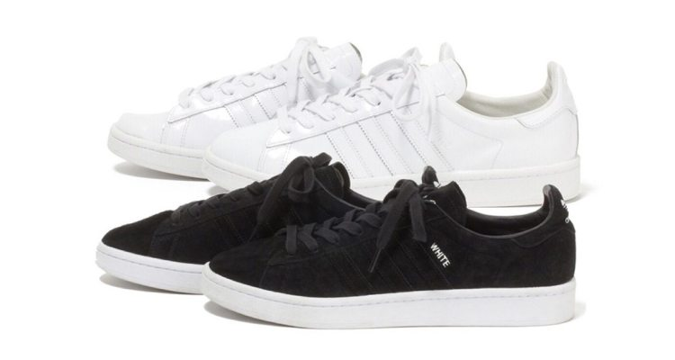 """the latest f3b0f 21787 White Mountaineering x adidas Campus 80s """"Monochrome"""" Pack  Available Now"""