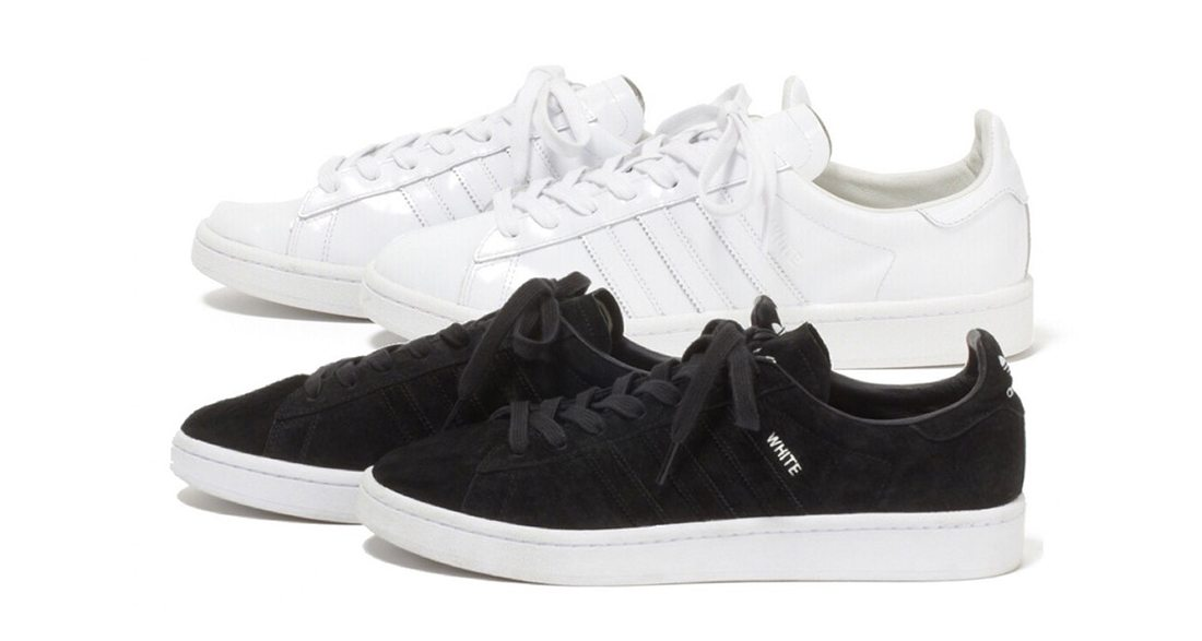 "White Mountaineering x adidas Campus 80s ""Monochrome"" Pack"