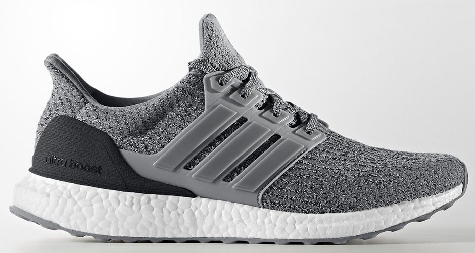 adidas ultra boost 3 0 grey three available now. Black Bedroom Furniture Sets. Home Design Ideas