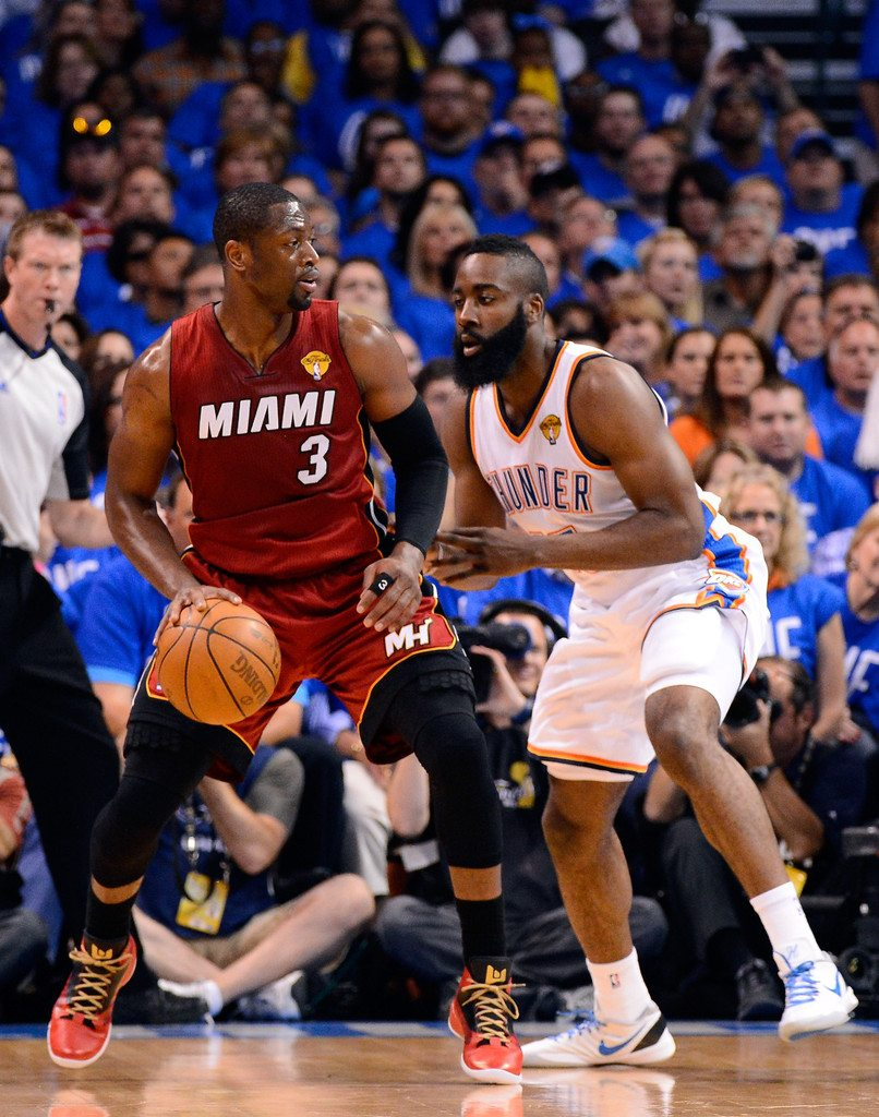 Dwyane Wade in the Jordan Fly Wade