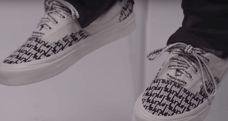 79518690489e0 Fear of God Previews New Vans Collaboration in Essentials Video