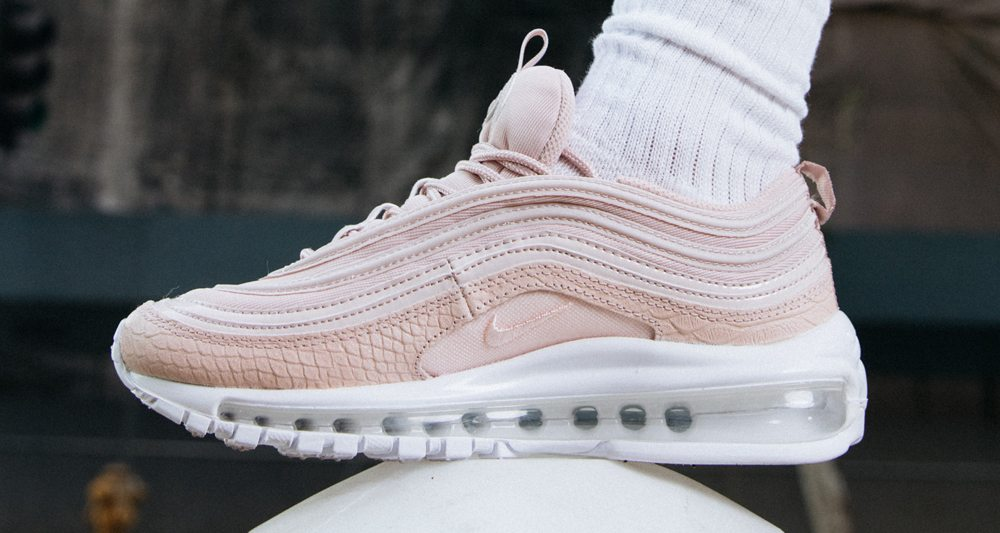 "competitive price ffa93 b7b58 Nike Air Max 97 Premium Goes ""Pastel Pink"""