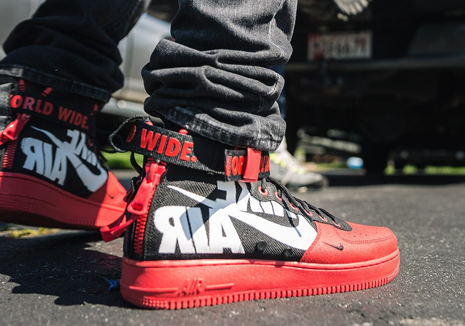 nike air force 1 mid sizing a bike