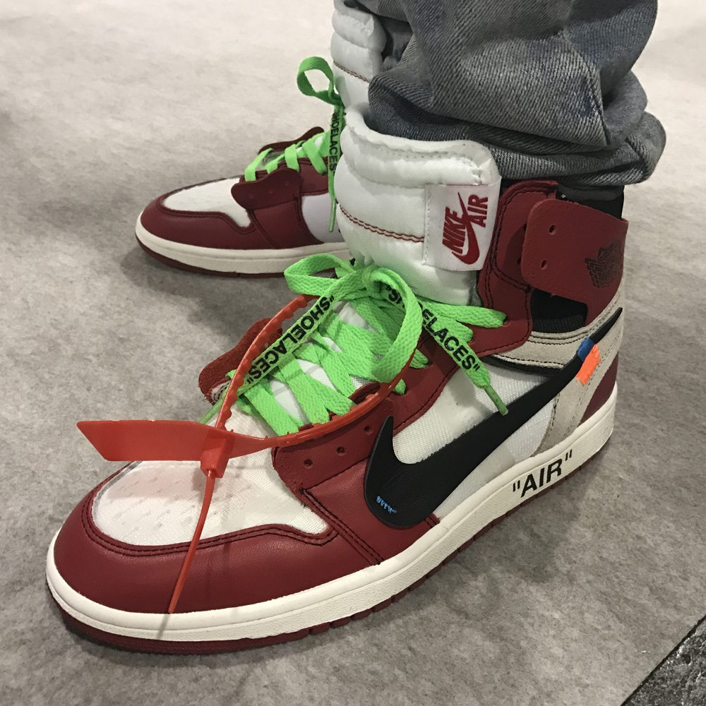 ffee6bddb214e0 Agenda Report    An On-Foot Look at the Off-White x Air Jordan 1 ...