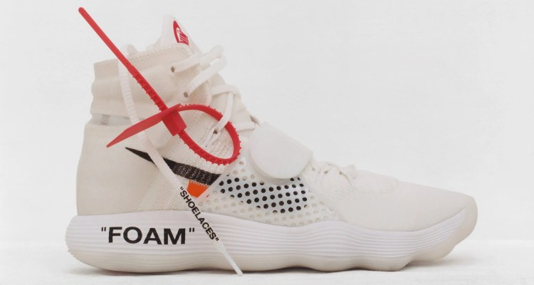 Off-White x Nike REACT Hyperdunk 2017