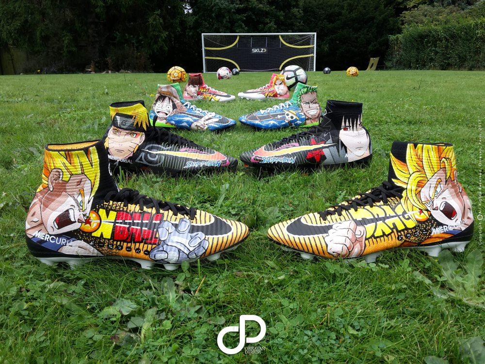 """8556b3934e4c Custom Nike Mercurial """"MANGA"""" Bakary Sako by Orravan Design ..."""