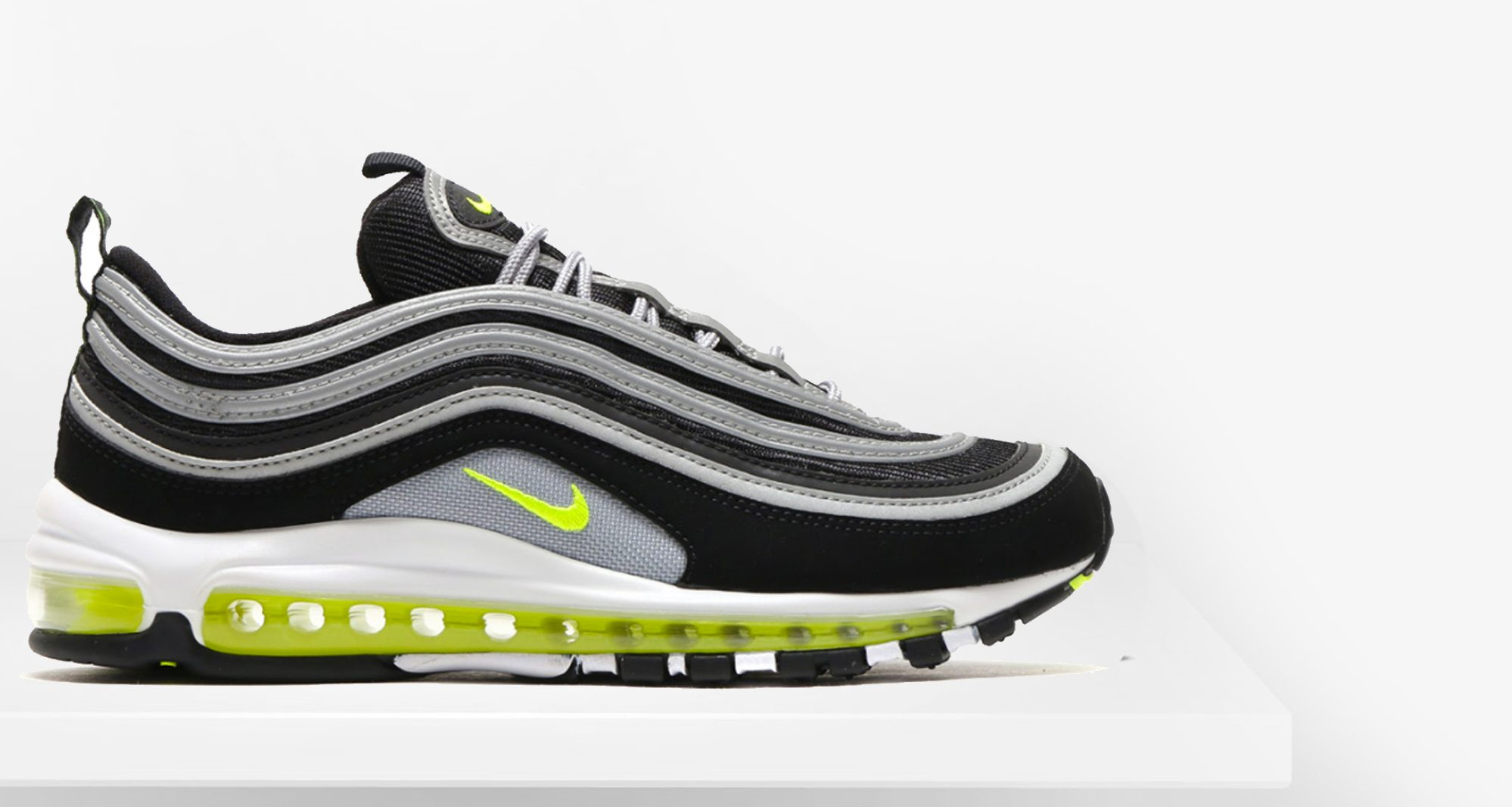 best service 0f171 e4ccb Nike Air Max 97 Black Volt    Closer Look   Nice Kicks