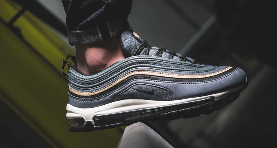 381ce0b0901224 Nike Air Max 97 Gets Wool Update for Fall