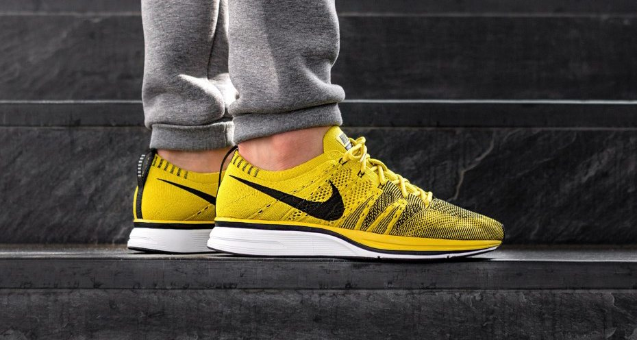 """f8c1c46b2fc3a ... Another Look at the Nike Flyknit Trainer """"Bright Citron"""" ..."""