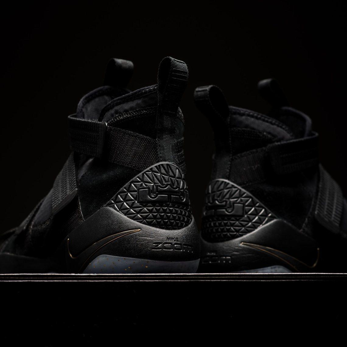 Nike LeBron Soldier 11 SFG Black/Metallic Gold