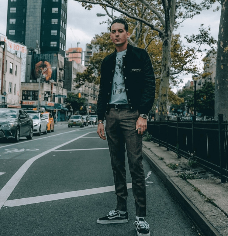 ed2a5f6268dd17 ... G Eazy in the Vans Old School