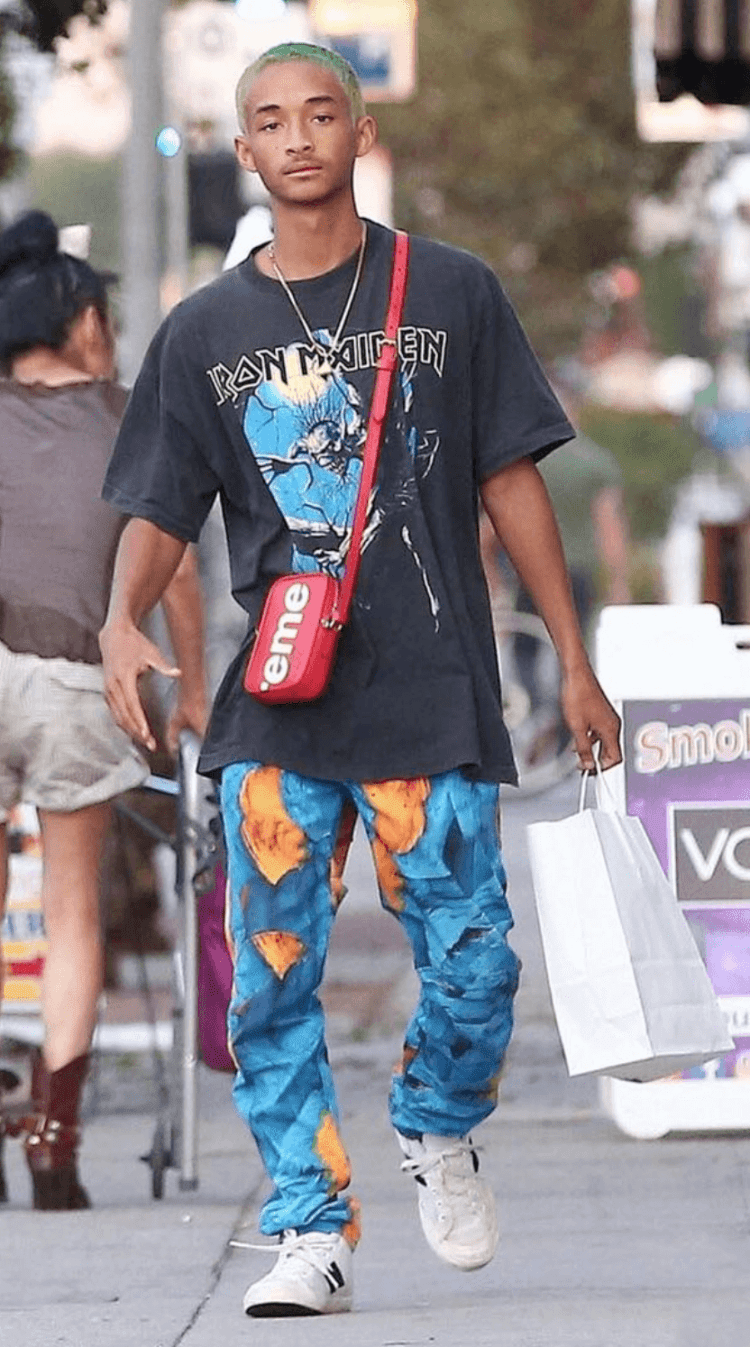 Jaden Smith in the New Balance Sneakers