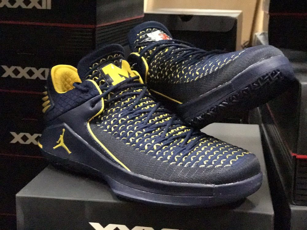 c98837eda5f5 Air Jordan XXX2 Low Michigan PE Air Jordan XXX2 Low Michigan PE