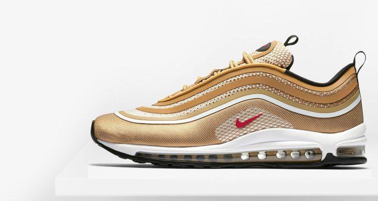 Nike Air Max 97 Ultra '17 Metallic Gold