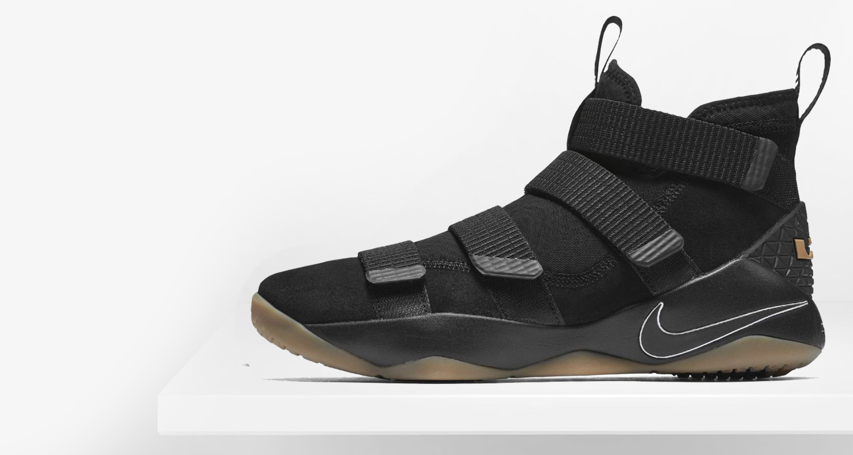 0bcaad83cf53 Nike LeBron Soldier 11 Black Gum    Preview
