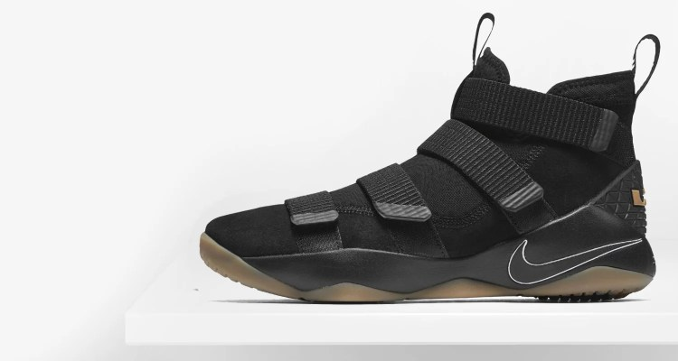 f03e0f89c30bd ... Nike LeBron Soldier 11 BlackGum Preview ...