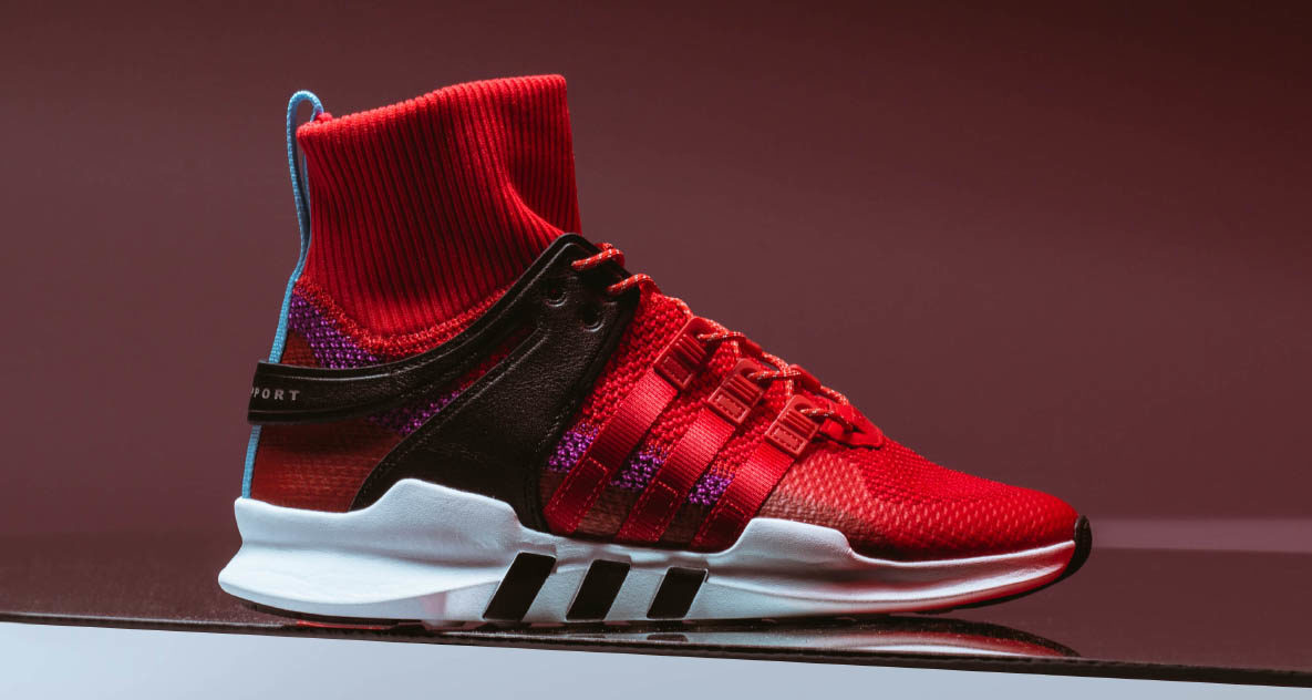 brand new ea0c5 f31c3 Adidas EQT Support ADV Winter Scarlet // Available Now