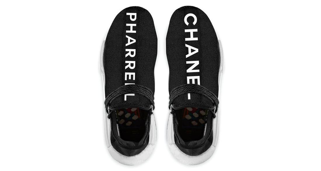 the latest bb5b4 02531 Chanel x Pharrell x adidas NMD Hu Trail // Release Date ...