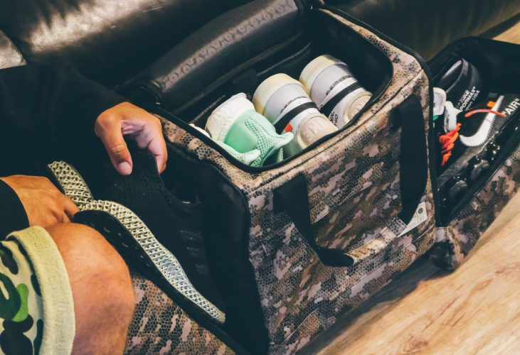 HEX Sneaker Duffle and Backpack
