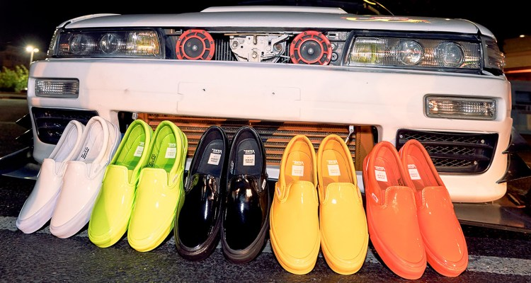 "Opening Ceremony x Vans Slip-On ""Glossy"" Pack"