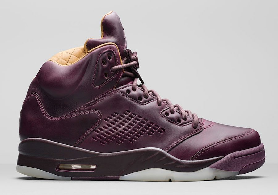 "Air Jordan 5 PRM ""Bordeaux"" – Release Date: December 14, 2017 – $400"