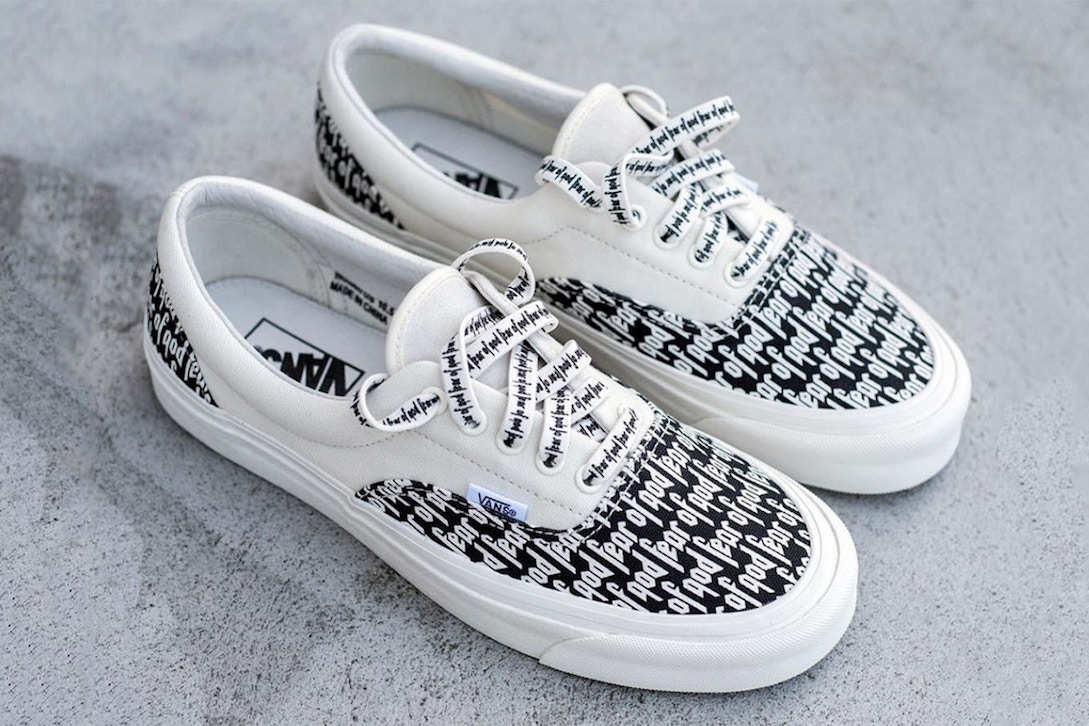 ef4f9b0191 Fear of God x Vans Collection Gets a Release Date