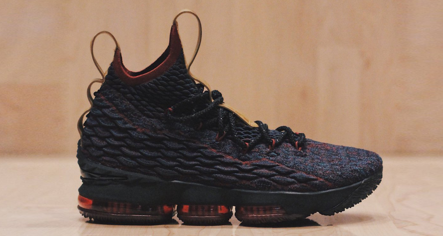 "ae756887e95e Nike LeBron 15 ""New Heights""    Release Date"