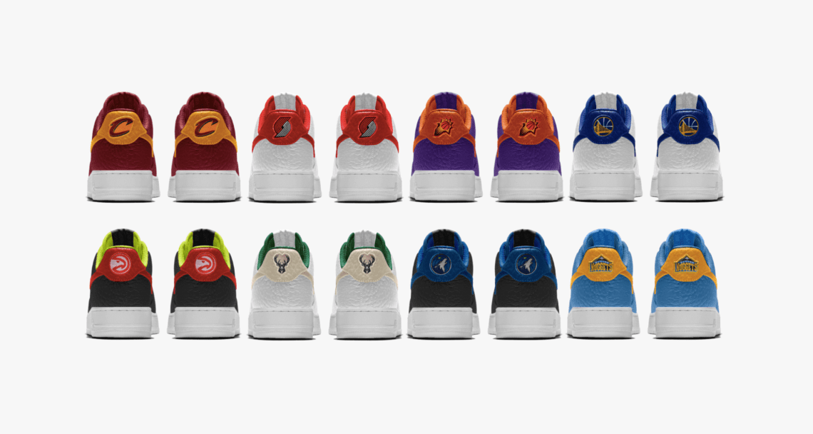Exclusive // NBA x NIKEiD Air Force 1 Features Tumbled Leather & More Team Options Than Ever Before