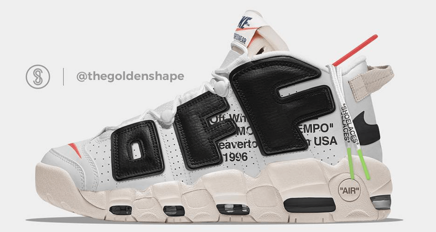 239e0dc7be Off-White x Nike Air More Uptempo Concept May Be the Best Yet | Nice ...