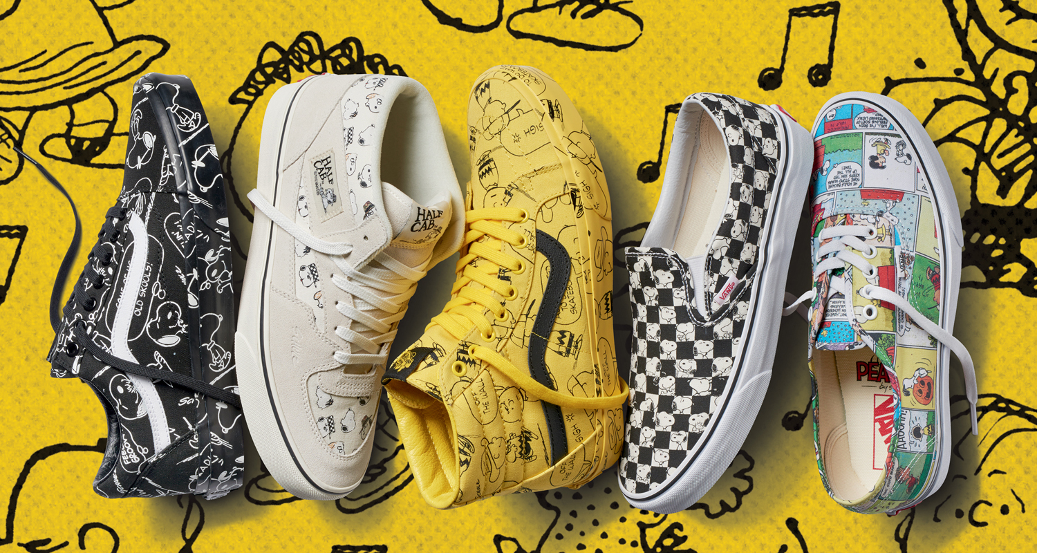 peanuts x vans collection release date nice kicks