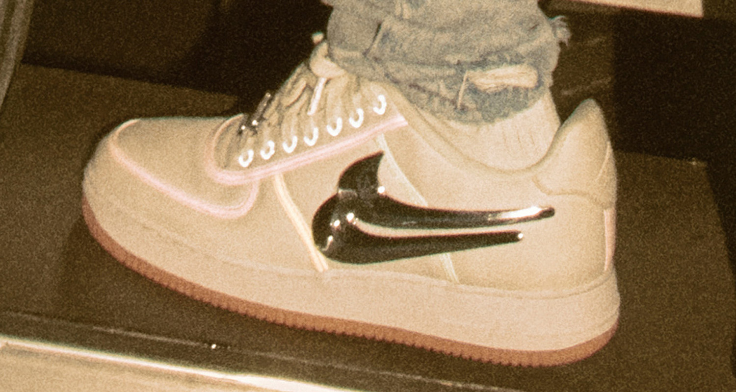 official photos 612db 5ceb1 Travis Scott x Nike Air Force 1 Low // Release Date | Nice Kicks